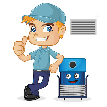 58 Hvac Repair Stock Illustrations, Cliparts And Royalty Free Hvac ...