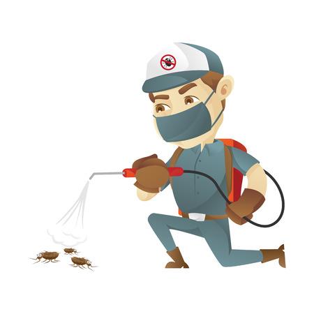 Schädlingsbekämpfung Service Töten Bugs