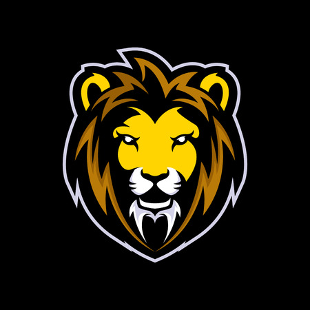 Lion logo mascot vector can be downloaded in vector format for unlimited image size and to easilly change colors
