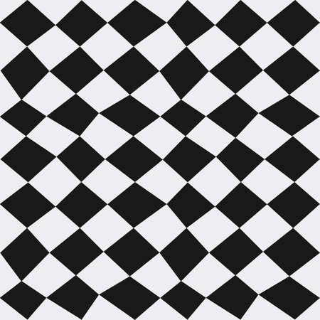 dizzy: Seamless abstract vector dizzy texture pattern in monochrome background Illustration