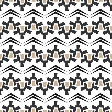 ethic: Seamless abstract texture vector pattern on white background