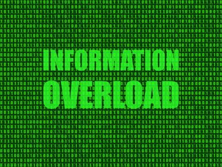 Vector: Information Overload Background, Technology Shining Illustration, Green Backdrop. 版權商用圖片 - 103727182