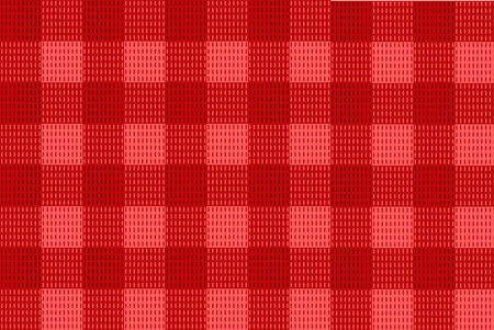 Red checkered Vector Seamless Pattern