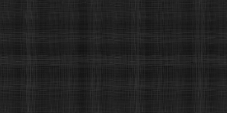 Vector Seamless Pattern: Black Fabric Texture, Textile Background, Abstract Dark Material.