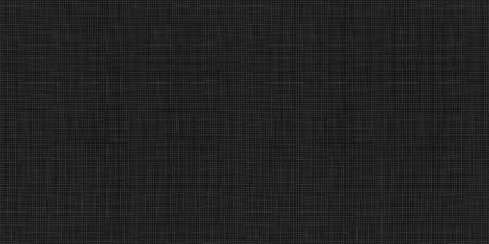 Vektornahtloses Muster: Schwarze Gewebebeschaffenheit, Textilhintergrund, abstraktes dunkles Material.