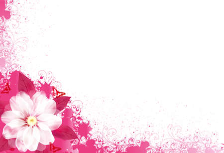 primavera: FloralCard30-01 (3) .jpg Vectores