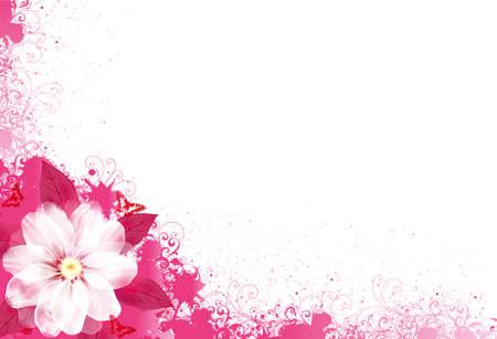FloralCard30-01(3).jpg Stock Vector - 9474401