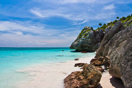 carribean: Beach in Tulum - Mexico