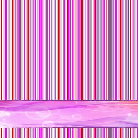 1970s retro striped background with place for text Vector