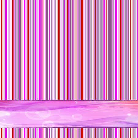 lineas verticales: rayada retro a�os 70 fondo con lugar para texto Vectores