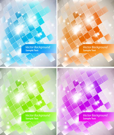 Intensive colors background  Vector