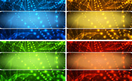 background set with red green yellow and blue Vector