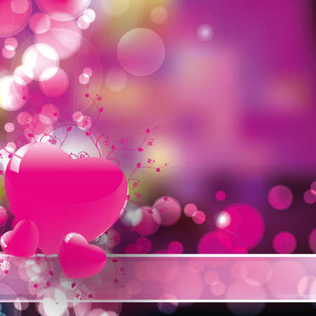 hearts background vector for valentin day and xmas Vector