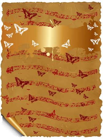 tabique: plantilla de �lbum de recortes de tarjetas de felicitaci�n