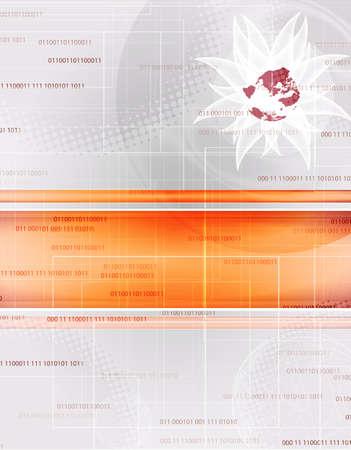 dibujo tecnico: resumen de antecedentes tecnología de color rojo con el lugar de texto