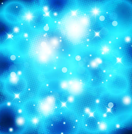 brightness: Intensive blue color background - abstract vector
