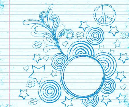 fancy doodle vector with place for text Stock Vector - 11480211
