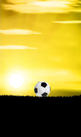 futbol soccer: soccer football futbol player kicking a ball