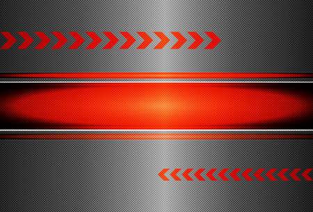 Carbon Fiber Black Background Texture - High Detail Stock Vector - 13331108