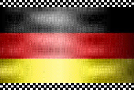 Carbon Fiber Black Background Texture - Germany Stock Vector - 13331067