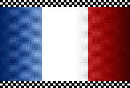 Carbon Fiber Black Background Texture - France Stock Vector - 13331066
