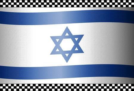 Carbon Fiber Black Background Texture - Israel Stock Vector - 13331101