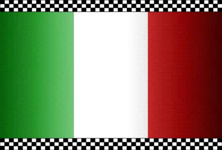 Carbon Fiber Black Background Texture - Italy Stock Vector - 13331068