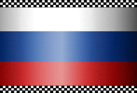 Carbon Fiber Black Background Texture - Russia Stock Vector - 13331077