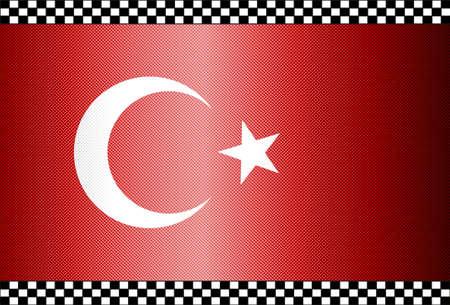 Carbon Fiber Black Background Texture - Turkey Stock Vector - 13331078