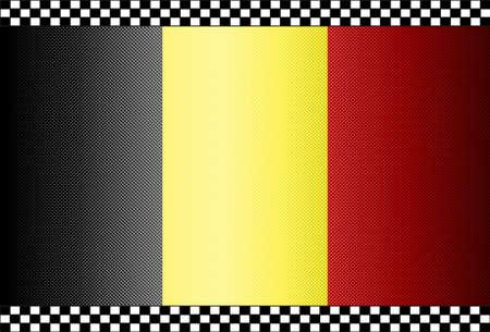 Carbon Fiber Black Background Texture - Belgium Stock Vector - 13331073
