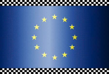 Carbon Fiber Black Background Texture - Eu Stock Vector - 13331076