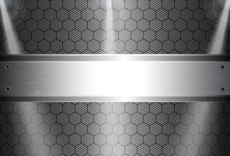 high angles: realistic dark carbon fiber weave background or texture Illustration