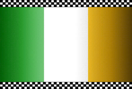 Carbon Fiber Black Background Texture - Ireland Vector