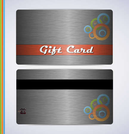 retro grunge gift card for your business