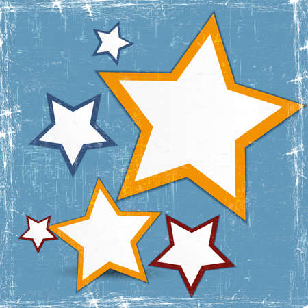 Abstract web design stars for your business Vector
