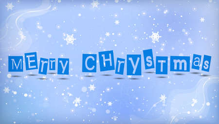 elegant christmas background with place for text Vector