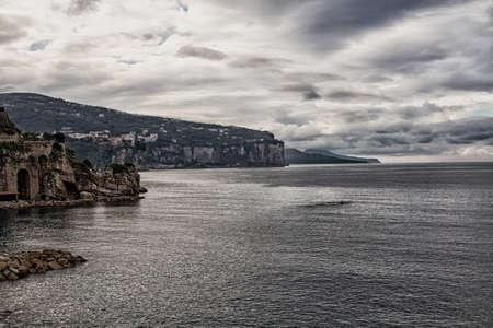 sorrento: Sea in Amalfi Coast. Naples - Best of Italy