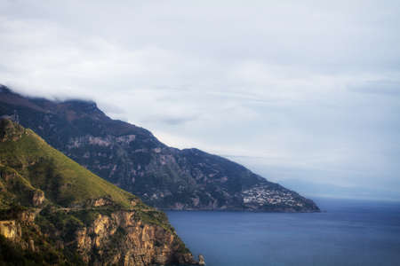 Sea in Amalfi Coast. Naples - Best of Italy photo