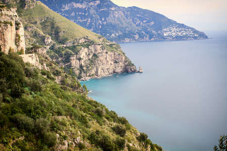 positano: Sea in Amalfi Coast. Naples - Best of Italy