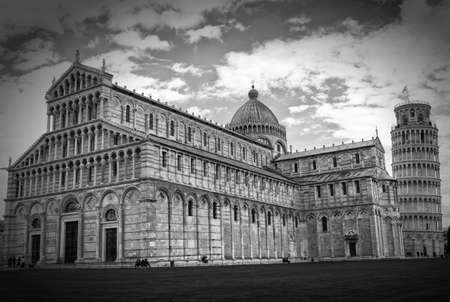 Pisa Cathedral and  Leaning Tower of Pisa photo