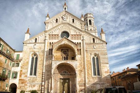 The church of San Zeno - Verona, Italy photo