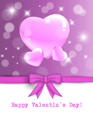 Valentine's day backgrounds with abstract hearts. Stock Vector - 17719299