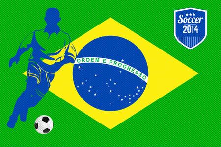 Brazilian Flag - cup 2014 photo