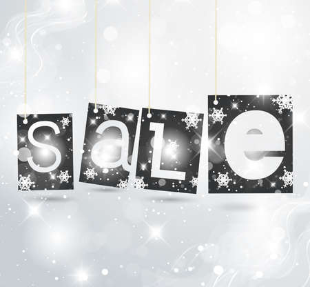 Christmas label vector illustration - for your business Vector