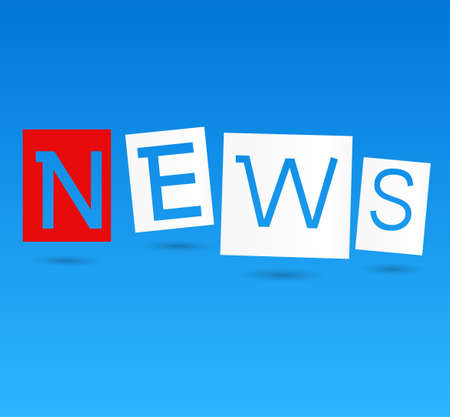 news update: Education News - Newspaper with white background template