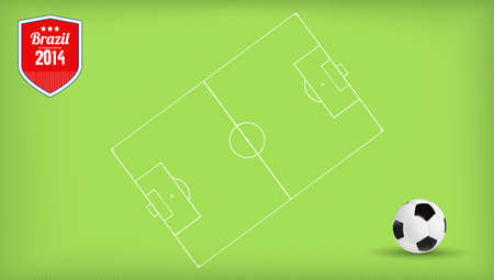 soccer wm: soccer player with the ball wm brazil
