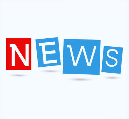 breaking news: Education News - Newspaper with white background template