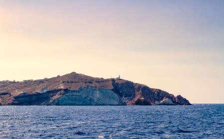 Beautiful scenery of Santorin photo