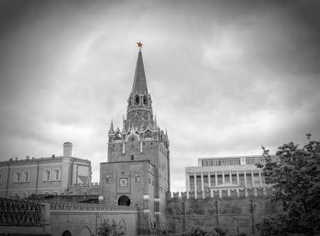 Moscow kremlin, Troitskaya tower photo