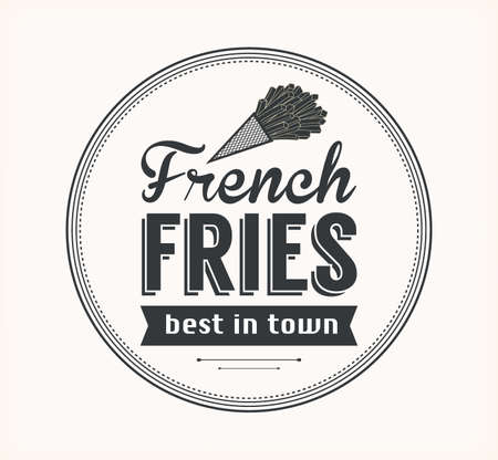 Vector French Fries Icon